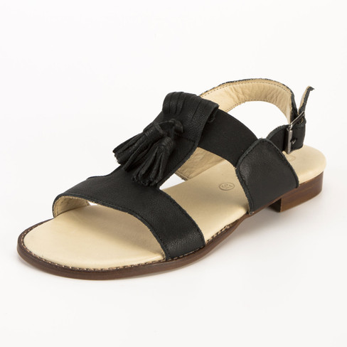 Bio-sandaal, zwart 40