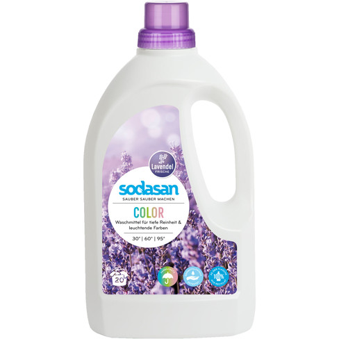 Vloeibaar wasmiddel Color Lavendel 1,5 l