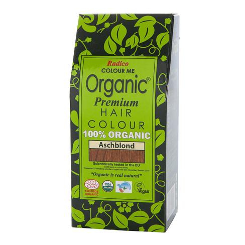 Radico Organic plantaardige haarkleuring 100 g, asblond