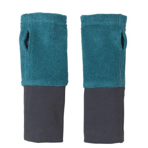 2 in 1 warmers, smaragd L 22 cm