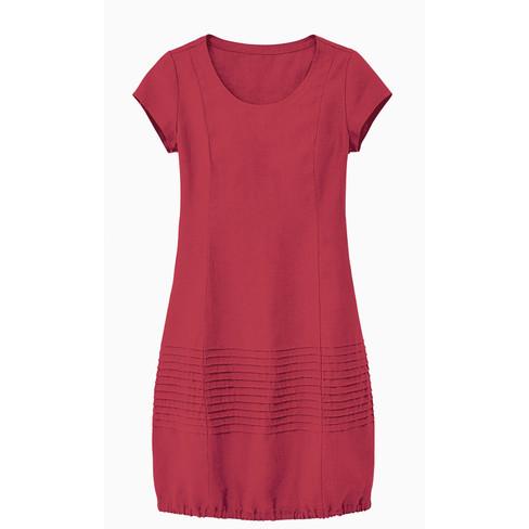 Linnen jurk, kersen 40