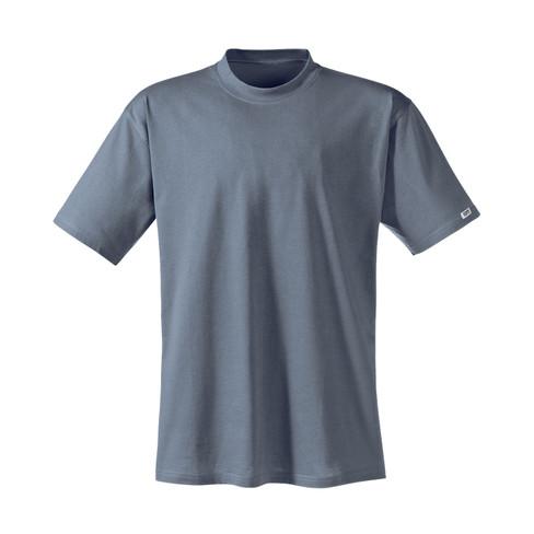 T-shirt met halflange mouw, grafiet 6