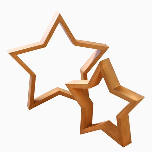 Houten ster