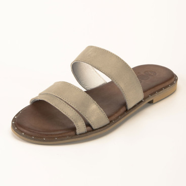 Slipper, zand