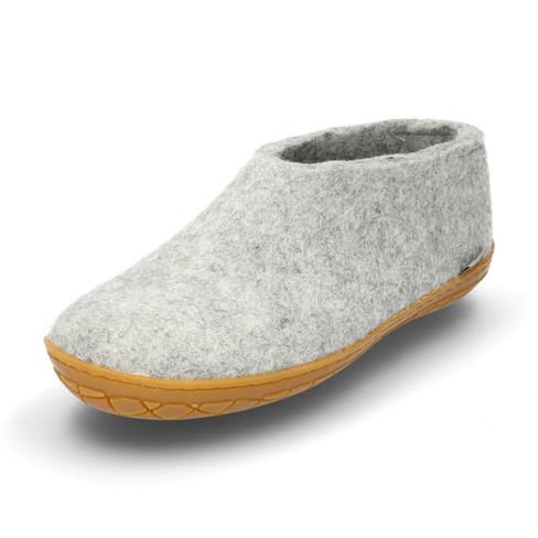 Huisschoenen voor HAAR & HEM, grijs 37