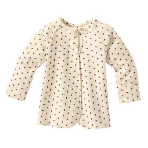 Baby-overslaghemdje uit biologisch katoen, gestipt 50/56