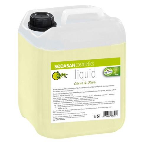 Bio-plantenzeep LIQUID Citrus-Olive 5l