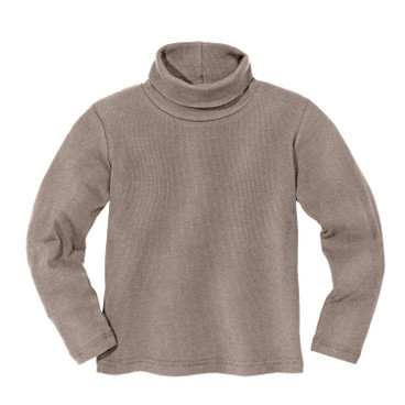 Rolkraagshirt, taupe