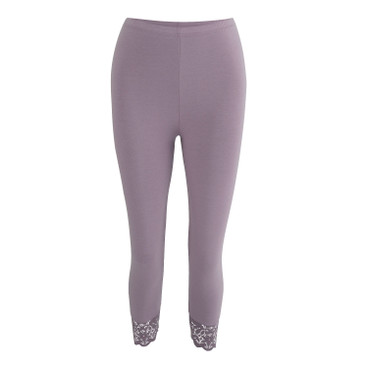 3/4-leggings, lichtpaars