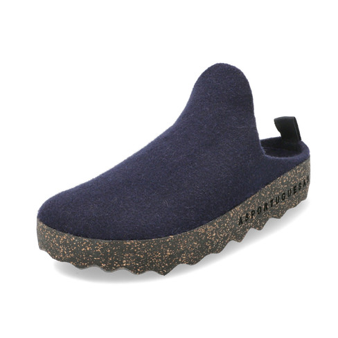 "Walkstof clog ""Come"", marine"