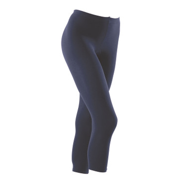7/8-pantyleggings, marineblauw