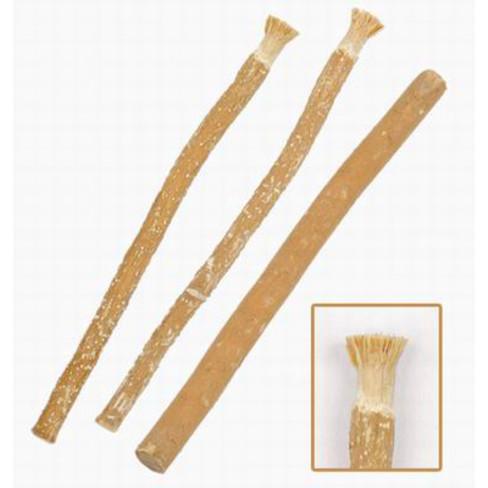 Ecologische Miswak houten tandenborstel, set van 3 stuks