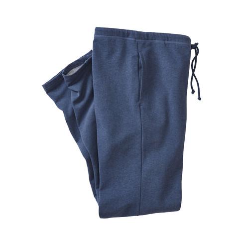 Sweatbroek, jeansblauw gem�leerd M