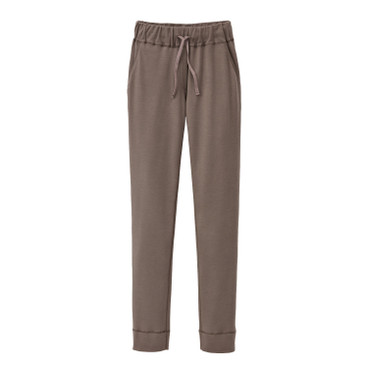 Jersey broek, taupe