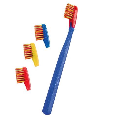 Tandenborstel met verwisselbare kop voor kinderen