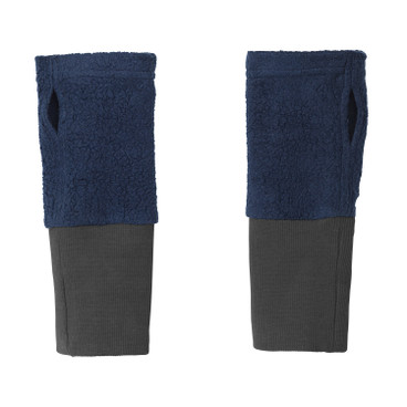2 in 1 warmers, blauw