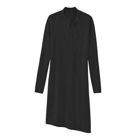 Gebreide jurk, zwart 38