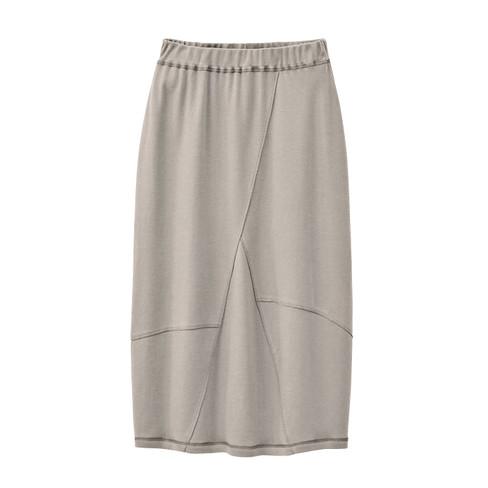 Jersey rok, taupe 40/42