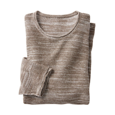 Pullover, taupe-naturel