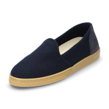 Slipper WOOL LOAFER, blauw