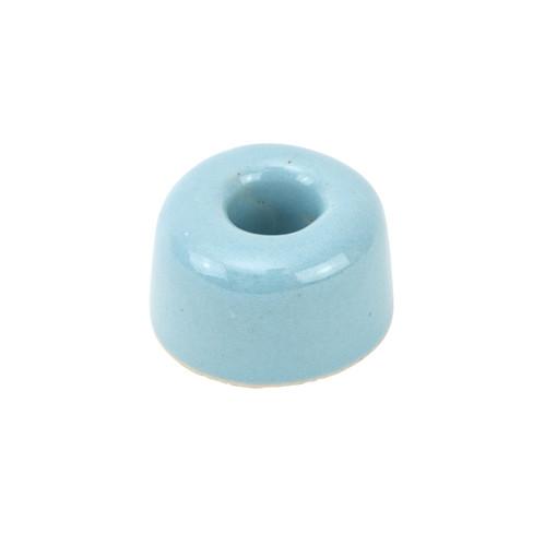 Tandenborstelhouder van keramiek, blauw