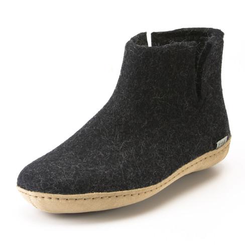 Pantoffels, zwart 43