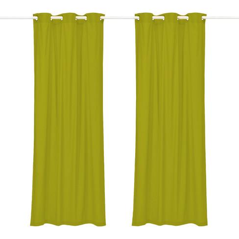 Lussengordijn (1 st.), bamboe 135 x 245 cm