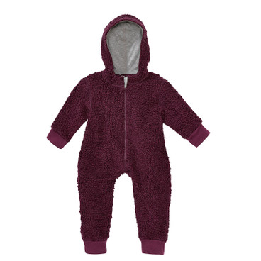 Pluchen baby-overall, bes