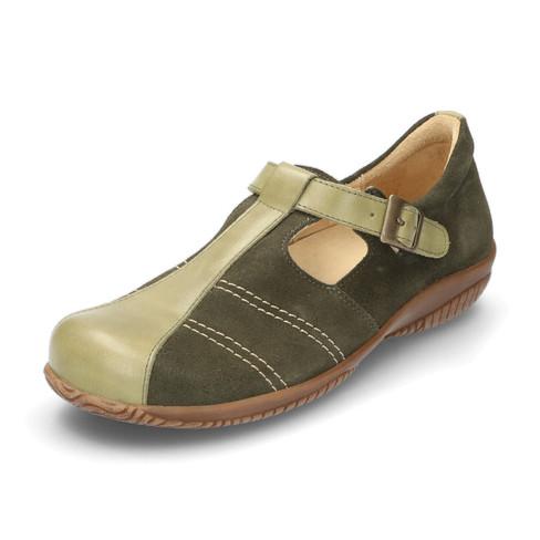 Lage schoenen, olijf 38