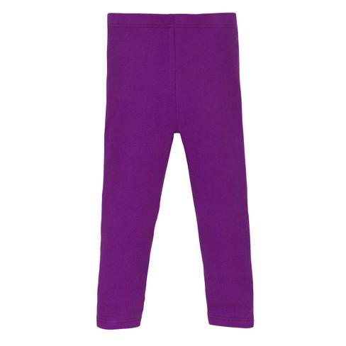 Leggings, paars 134 140