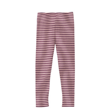 Kinder-leggings, bes/roze