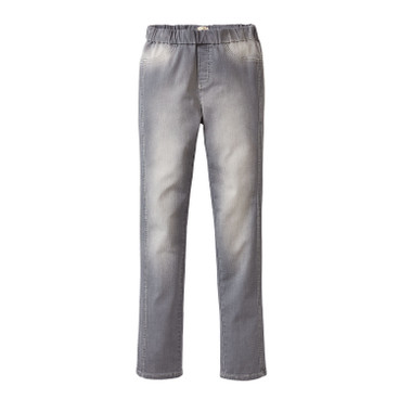 Bio-jeggings, grey washed