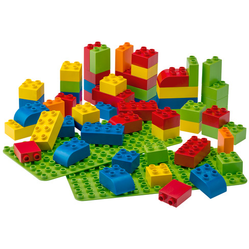 BIOBUDDI bouwblokken, basiskleuren