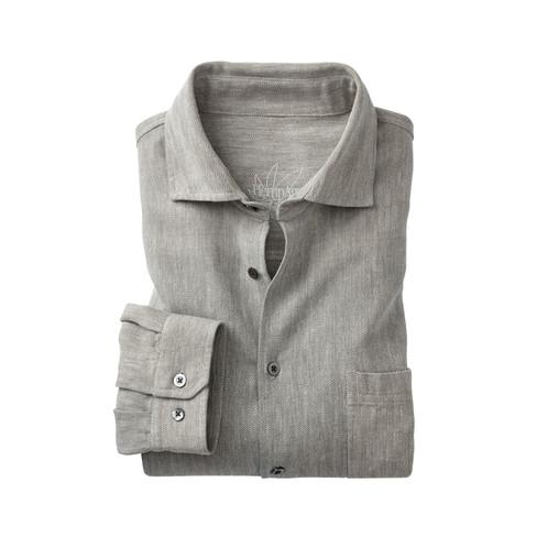 Hennep shirt, steen-natuur XL from Waschbär