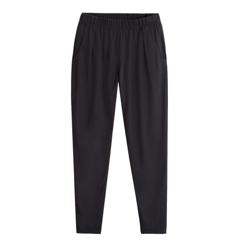 Jersey broek, lang, antraciet 40/42