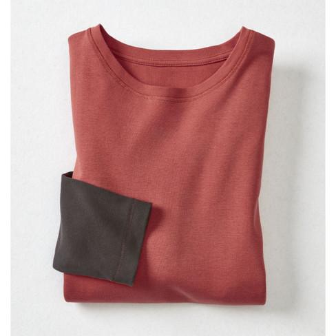 2-in-1 shirt met lange mouwen, papaya/scho XXL