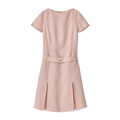 Linnen jurk, malve 40
