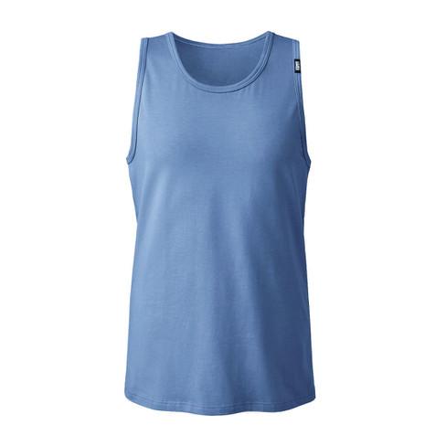 T-shirt zonder mouwen, jeansblauw-gemêleerd 8