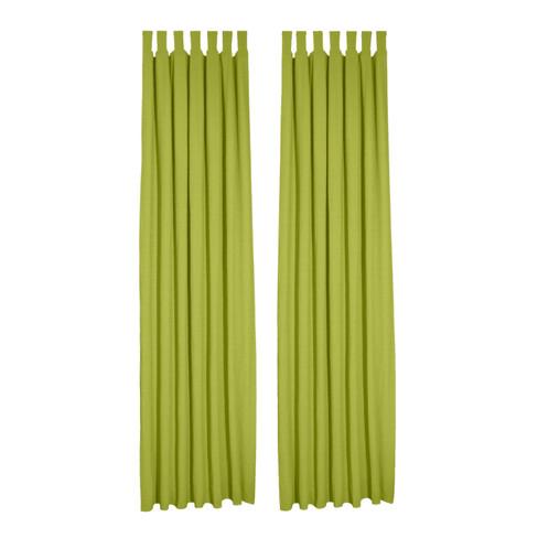 Biologisch lusgordijn, 2 stuks, bamboe 135 � 245 cm
