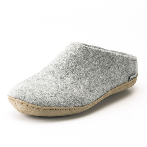 Pantoffels voor hem & haar, grijs 40