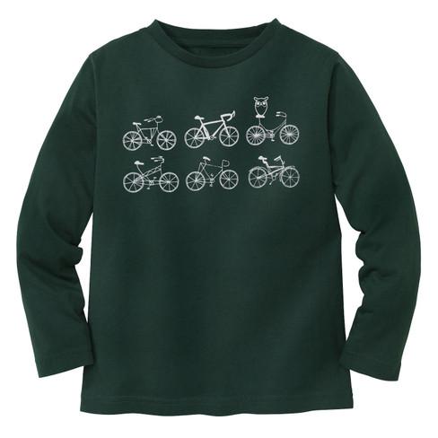 Shirt met lange mouw Fiets, grün 98/104