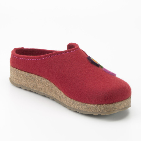 "Pantoffels ""Grizzly"", rood"