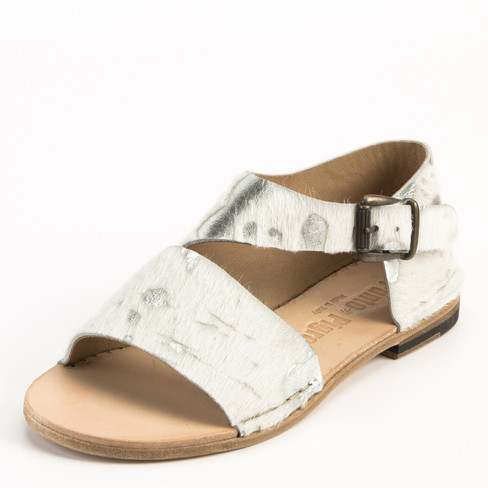 Sandaal, zilver 37