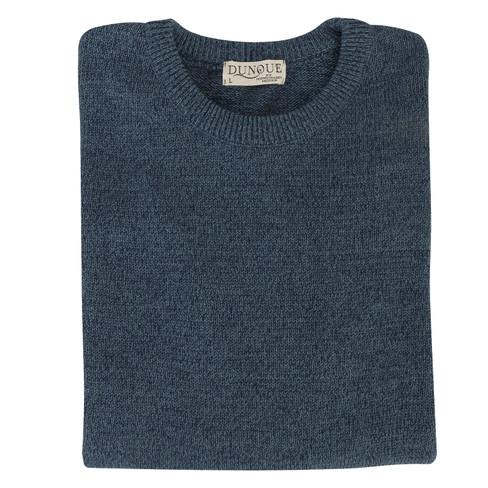 Pullover met ronde hals, jeans-gem�leerd L