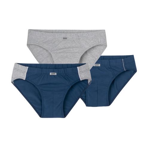 Slip, pak van 3, blauw/grijs-gemel 5