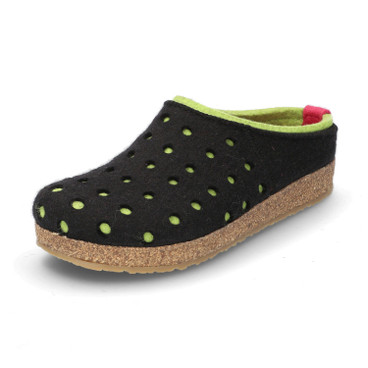 "Pantoffels ""Holly"", Zwart"