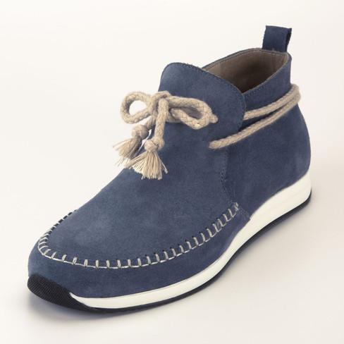 Lage schoen, jeansblauw 40