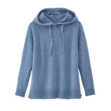 Pullover met capuchon, jeans