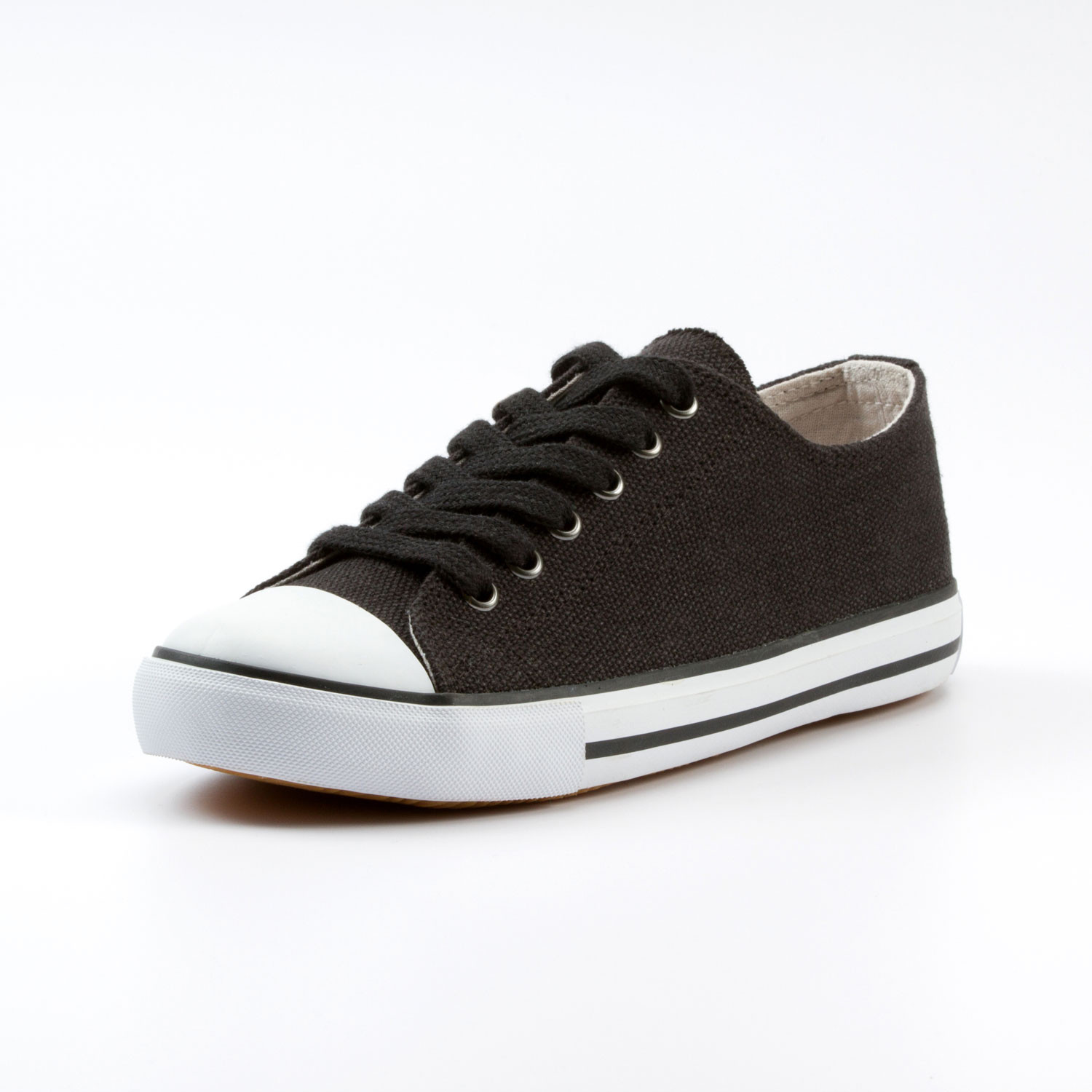"Hennep sneakers ""Chris"", zwart"