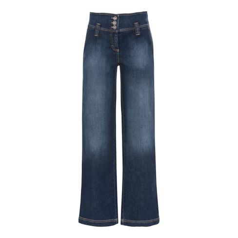 Bio-jeans Marlene, donkerblauw 40